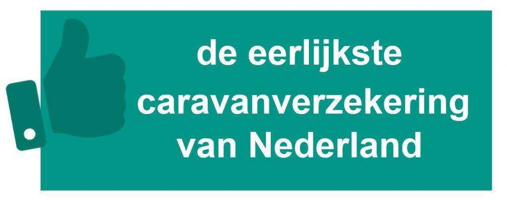 eerlijkste caravanverzekering van Nederland