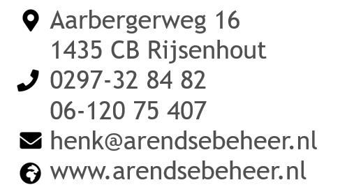 contactgegevens Arendse Beheer